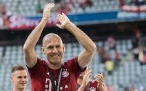 Robben tuyên bố giải nghệ vì cảm thấy cơ thể 'mệt mỏi'