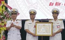 Tiểu đoàn DK1 đón nhận Huân chương bảo vệ Tổ quốc