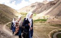 Ý chí mạnh mẽ ở một ngôi trường vùng núi Afghanistan