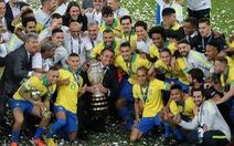 Peru chơi tấn công, nhưng Brazil đã vô địch Copa America 2019 với 10 người