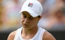 'Địa chấn' Wimbledon 2019, tay vợt nữ số 1 thế giới Ashleigh Barty bị loại