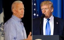 Nếu bầu cử Mỹ diễn ra lúc này, ông Joe Biden sẽ trở thành tổng thống
