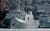 Tàu Trung Quốc lén lút theo dõi tập trận Mỹ - Úc?