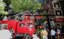 Gần một phần ba xe chữa cháy của Hà Nội đã hỏng