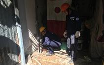 Dân phát hiện khoan giếng báo ngay cho quận xử lý trong vòng 2 giờ