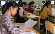 Chấm phúc khảo thi THPT quốc gia: Chỉ 204 bài thi thay đổi kết quả