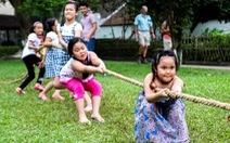 Hà Nội: Tổ chức hát đồng dao độc đáo trong 'Ngày hội tuổi thơ'