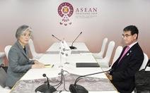 Gặp nhau mặt lạnh tanh, thất bại thấy trước cho đàm phán Ngoại trưởng Hàn - Nhật