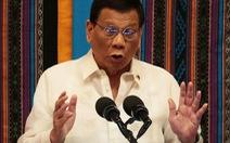 Philippines: Thỏa hiệp khai thác dầu khí với Trung Quốc là 'có lợi'