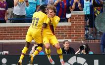 Suarez và Griezmann lập công, Barca đè bẹp Napoli