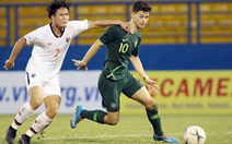 Thua U18 Úc 1-3, U18 Thái Lan sắp 'về nước sớm'