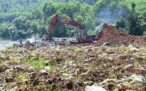 Quảng Nam: Dân ăn cơm phải bịt mũi vì mùi hôi thối từ bãi rác