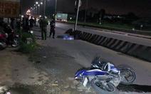 Hai thượng úy cảnh sát cơ động tử vong do tông dải phân cách
