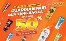 Guardian Fair - Quà tặng bao la độc quyền trên Shopee
