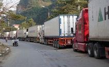 Trung Quốc đề nghị ôtô Việt Nam qua cửa khẩu phải gắn biển số điện tử của Trung Quốc