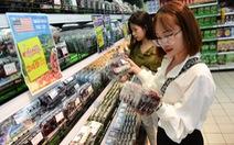 Cherry, nho Mỹ giá mềm đổ bộ, đầy ắp siêu thị Việt Nam