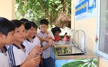 Sawaco: Trao trụ nước uống tại vòi cho vùng biên giới Trảng Bàng