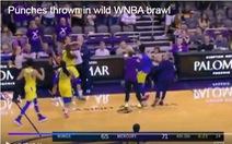 Đánh nhau kịch liệt, 6 cầu thủ nữ bị đuổi ở trận đấu bóng rổ chuyên nghiệp Mỹ