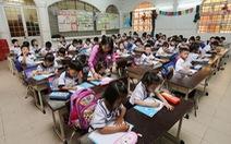 Tăng hơn 75.000 học sinh, TP.HCM xây thêm trường vẫn quá tải