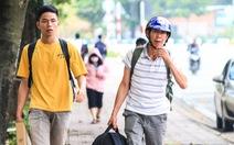 Cùng con lên Sài Gòn nhập học
