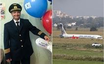 Ông Putin trao danh hiệu 'Anh hùng nước Nga' cho phi công hạ cánh giữa đồng bắp