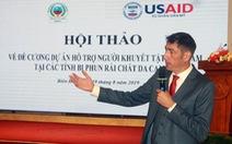 Hoa Kỳ tài trợ 50 triệu USD cho người khuyết tật tại 7 tỉnh Việt Nam