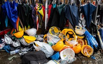 Biểu tình Hong Kong dai dẳng, đồ bảo hộ thành 'hàng nhạy cảm'