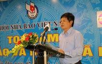 Ông Trần Trọng Dũng được bầu làm chủ tịch Hội Nhà báo TP.HCM