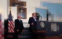 Ông Trump tiếp tục chọn ông Pence cùng tranh cử