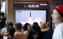 Hàn Quốc: Triều Tiên bắn tên lửa đạn đạo tầm ngắn loại mới