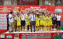 Xuân Trường lập cú đúp, Sông Lam Nghệ An vô địch Giải bóng đá nhi đồng toàn quốc