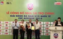 Bà Rịa - Vũng Tàu tổ chức giải U15 quốc tế có Nga, Hàn Quốc và Myanmar tham dự
