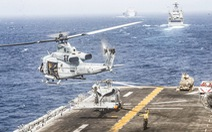 Úc điều khinh hạm, máy bay tới eo biển Hormuz bảo vệ tàu bè các nước