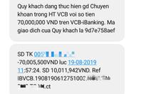 Lừa cung cấp 3 mã OTP rồi rút sạch tiền trong tài khoản ngân hàng