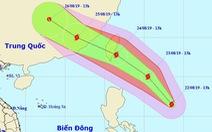 Xuất hiện bão cấp 9 gần Biển Đông, khả năng mạnh thêm