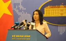 Việt Nam đang xác minh thông tin Trung Quốc triển khai giàn khoan 982 ở Biển Đông