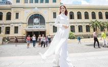 """Hoa hậu Phan Thị Mơ: 'Mình nổi tiếng thì phải góp sức quảng bá du lịch nhiều hơn"""""""