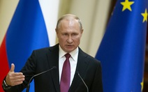 Ông Putin nói sẽ phản ứng phù hợp với vụ Mỹ thử tên lửa tầm trung