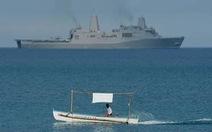 Hải quân Mỹ điều tàu qua eo biển Đài Loan