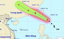 Sáng 24-8, bão Bailu cuồn cuộn áp sát Biển Đông, Hà Tĩnh - Quảng Trị mưa lớn