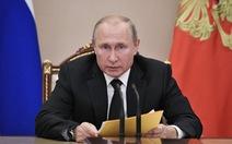Tổng thống Putin vừa ra lệnh quân đội Nga đáp trả sau khi Mỹ thử tên lửa mới