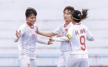 Việt Nam vào chung kết Giải bóng đá nữ Đông Nam Á 2019