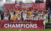 'Các tuyển thủ đã thi đấu kiên cường đúng kiểu phụ nữ Việt Nam'