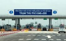 Bộ Giao thông vận tải 'nhờ' Thủ tướng đôn đốc VEC triển khai thu phí tự động