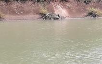 Một chiến sĩ công an hi sinh khi tìm người mất tích dưới kênh