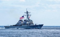 Hai lần trong tháng, Trung Quốc không cho tàu chiến Mỹ cập cảng