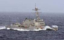 Thương chiến đang 'căng', tàu chiến Mỹ lại thách thức Trung Quốc ở Biển Đông