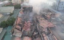 Chưa rõ nguyên nhân gây cháy ở Công ty Rạng Đông