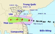 Bão số 4 giật cấp 11 khi đổ bộ Nghệ An - Quảng Bình, cả nước mưa lớn