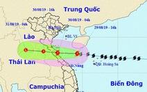 Bão số 4 giật cấp 11, cách đất liền Nghệ An - Quảng Trị 300km